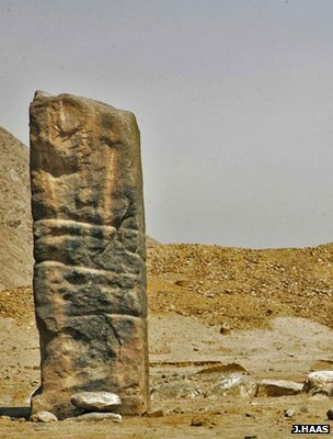 Ancient monolith, Peru (Image: Jonathan Haas)