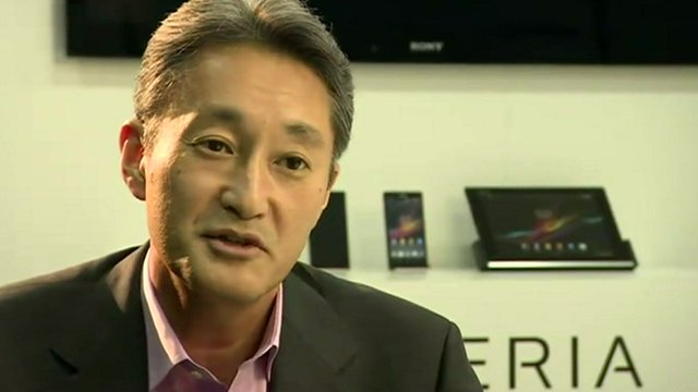 Kazuo Hirai, CEO Sony