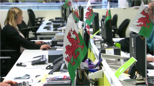 Welsh Water call centre offices