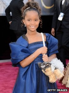 Quvenzhane Wallis at this year&#039;s Oscars