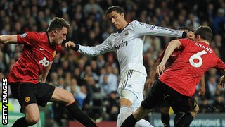 Real Madrid v Manchester United