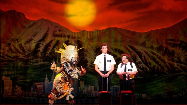 Scene from The Book of Mormon