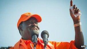 Raila Odinga (9 February 2013)
