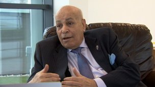Assem Allam, owner of Hull City