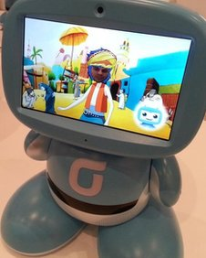 Korean Telecoms robot