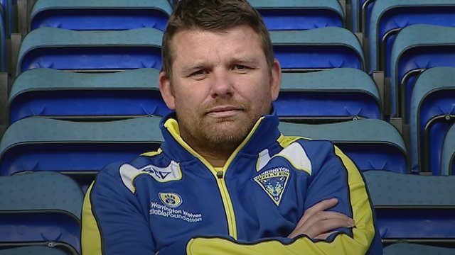 Warrington Wolves stand-off Lee Briers
