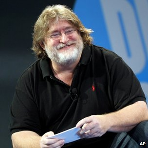 Gabe Newell at Dice 2013 conference