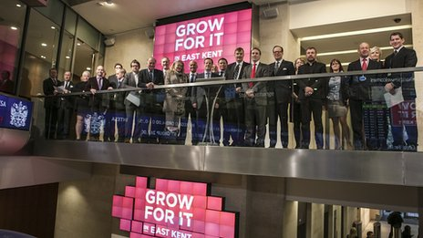 Grow for it launch at LSE