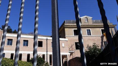 Mater Ecclesiae convent - Benedict's new home