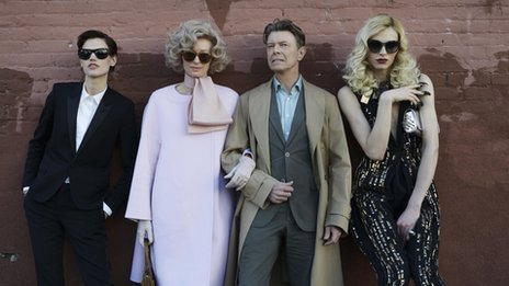 Cast of Bowie's new video