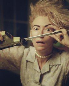 Tilda Swinton in Bowie's new video