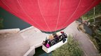 Passengers on a balloon flight near Luxor (26/02/13)