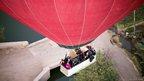 Passengers on a balloon flight near Luxor (26/02/13)