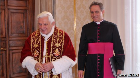 Pope and Archbishop Georg Ganswein