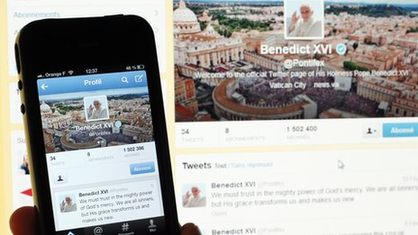 Pontifex Twitter account
