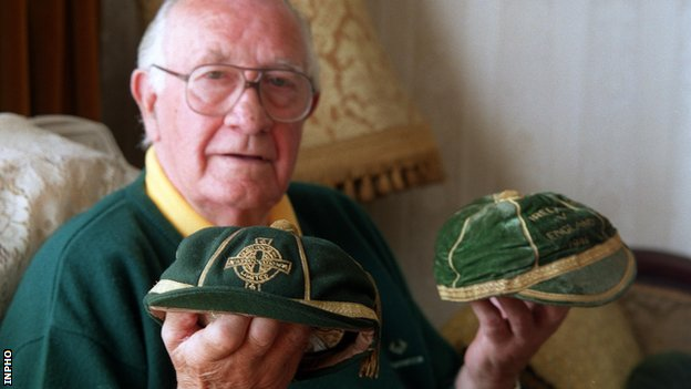 Con Martin won caps for both Northern Ireland and the Republic of Ireland