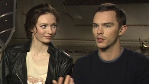 Eleanor Tomlinson and Nicholas Hoult