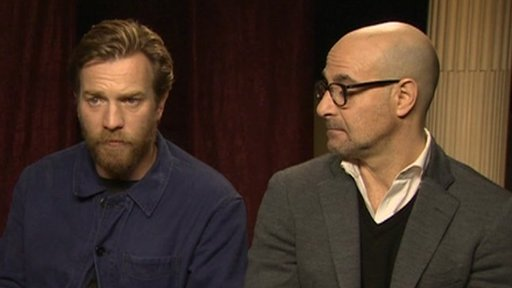Ewan McGregor and Stanley Tucci