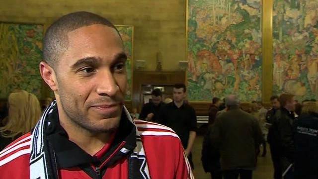 Swansea captain Ashley Williams said the players enjoyed the parade as much as the fans