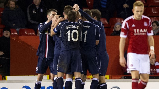 Ross County were 1-0 winners at Aberdeen