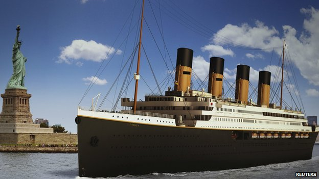 The proposed Titanic II cruise liner