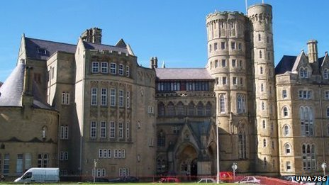 Aberystwyth University's Old College
