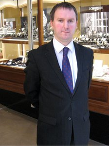 Chris Ellis from Dipples Jewellers