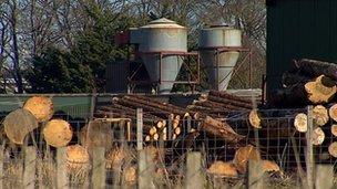Sawmill at Nairn