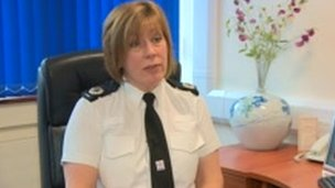 ACC Sue Fish from Nottinghamshire Police