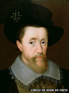 Portrait of James VI