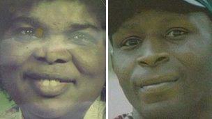 Grace Kamara and Christopher Alder