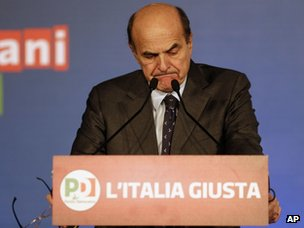 Pier Luigi Bersani (26 March 2013)