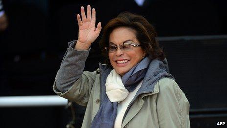 Elba Esther Gordillo pictured in June 2012