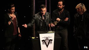The Killers were named best international band