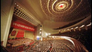 The Great Hall of the People in Beijing will host China's new lawmakers next week