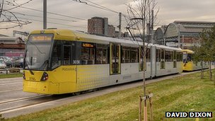 Metrolink tram