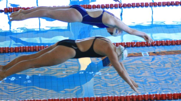 Swimming at the Island Games