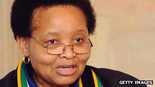 South African women's minister Lulu Xingwana (file photo)