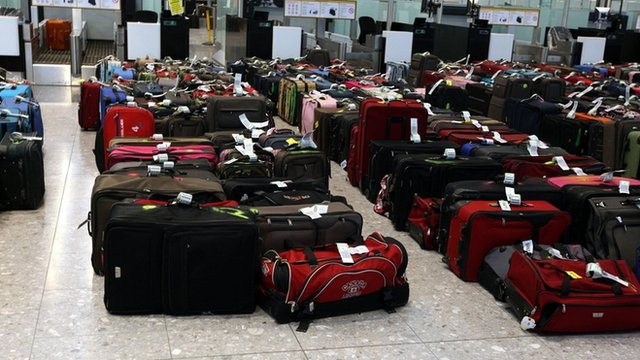 Secret luggage searches' at Birmingham airport - BBC News