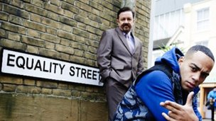 Geravis' promotional picture for Equality Street