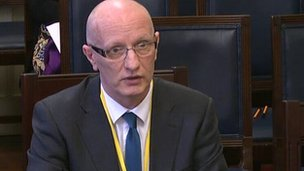"Colin Neill said festive trade had ""falled off a cliff"""