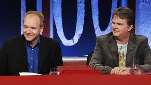John O'Farrell and Paul Merton