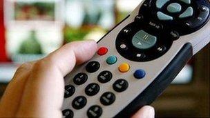 interactive tv controller