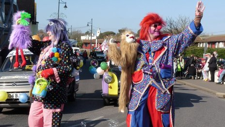 Clowns in Bognor Regis