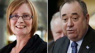 Tricia Marwick and Alex Salmond