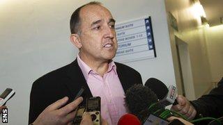 Hearts managing director David Southern