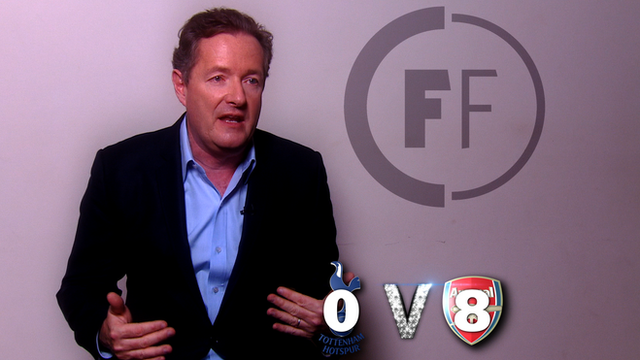 Piers Morgan predicts the Premier League results