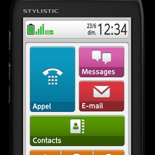 Stylistic mobile phone