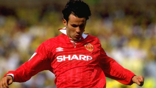Ryan Giggs in 1993