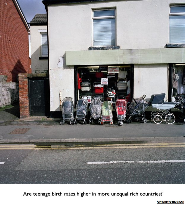 The A41 Project - visualising inequality by Colin McPherson
